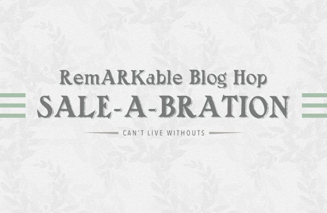 Darla at inkheaven in the can't live without remarkable sale-a-bration blog hop