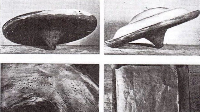 Real UFO disk recovered in the UK on Silphor Moor.
