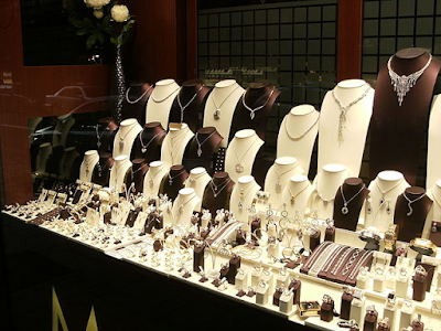 Online Jewelry Display