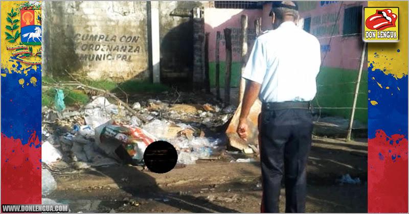 Encuentran cadáver con las tripas afuera en un basurero de Ciudad Guayana