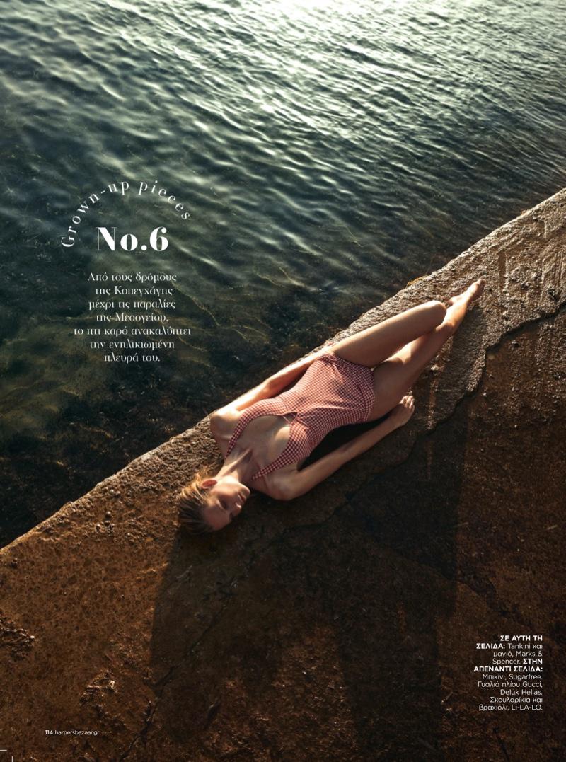 Mariina Keskitalo - Harper's Bazaar Greece July 2021