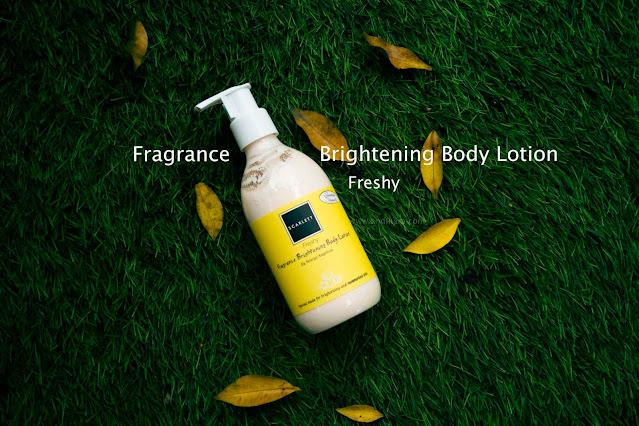Fragrance Brightening Body Lotion Scarlett Whitening