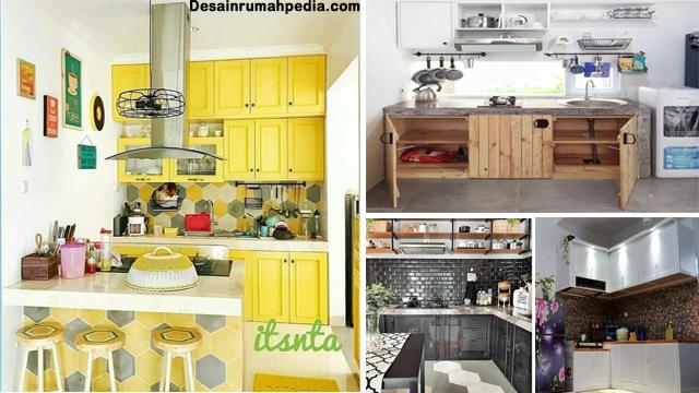 6 Inspirasi Desain Kabinet Dapur Rumah Minimalis Modern Cantik Banget Desainrumahpedia Com Inspirasi Desain Rumah Minimalis Modern