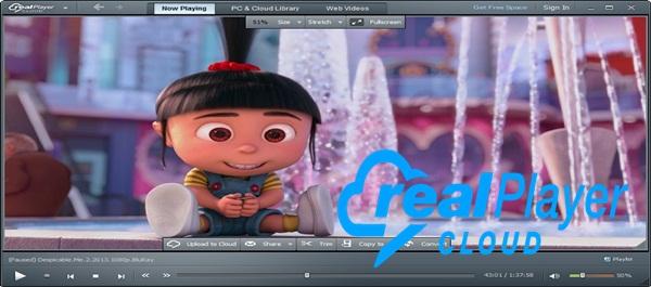 افضل مشغل الفيديو والصوت RealPlayer Cloud