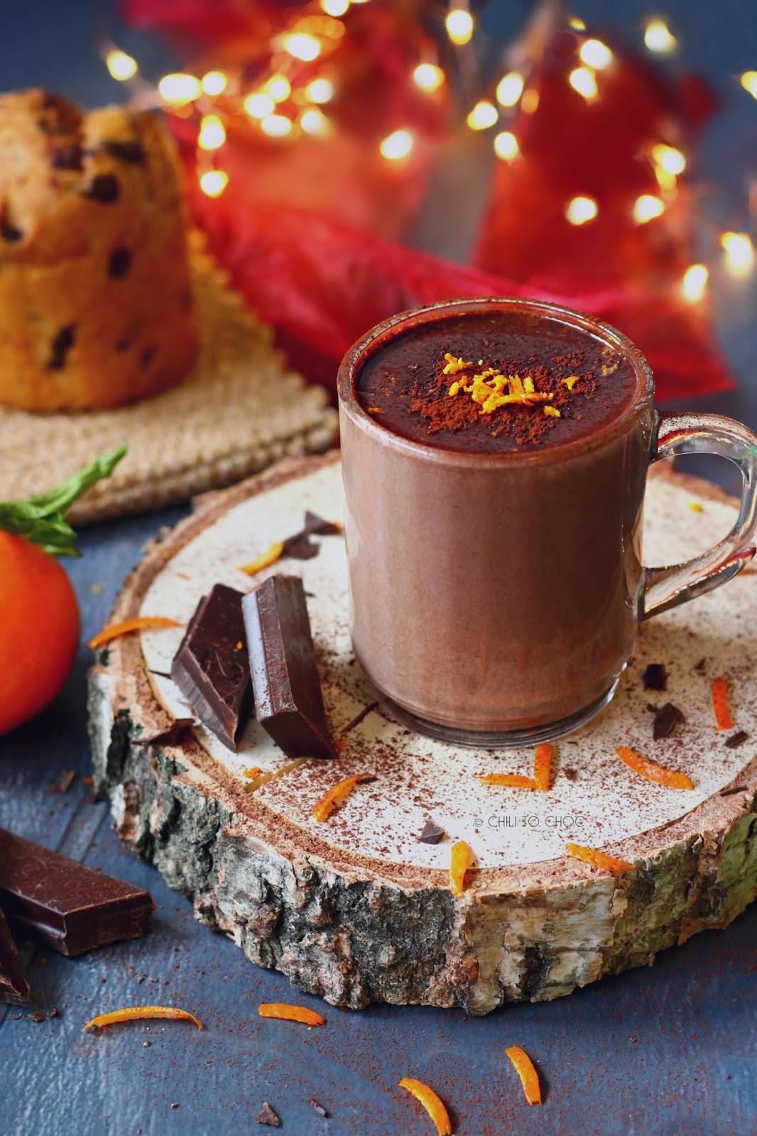 Orange Hot Chocolate - Photography