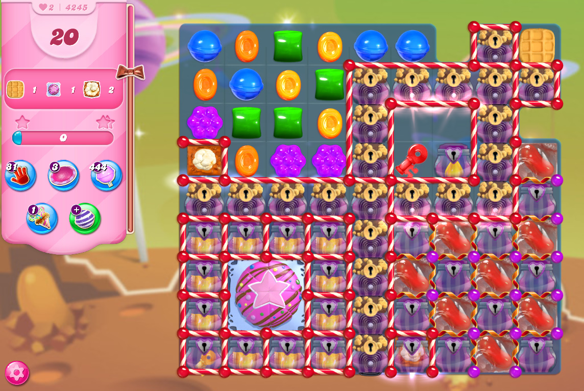 Candy Crush Saga level 4245