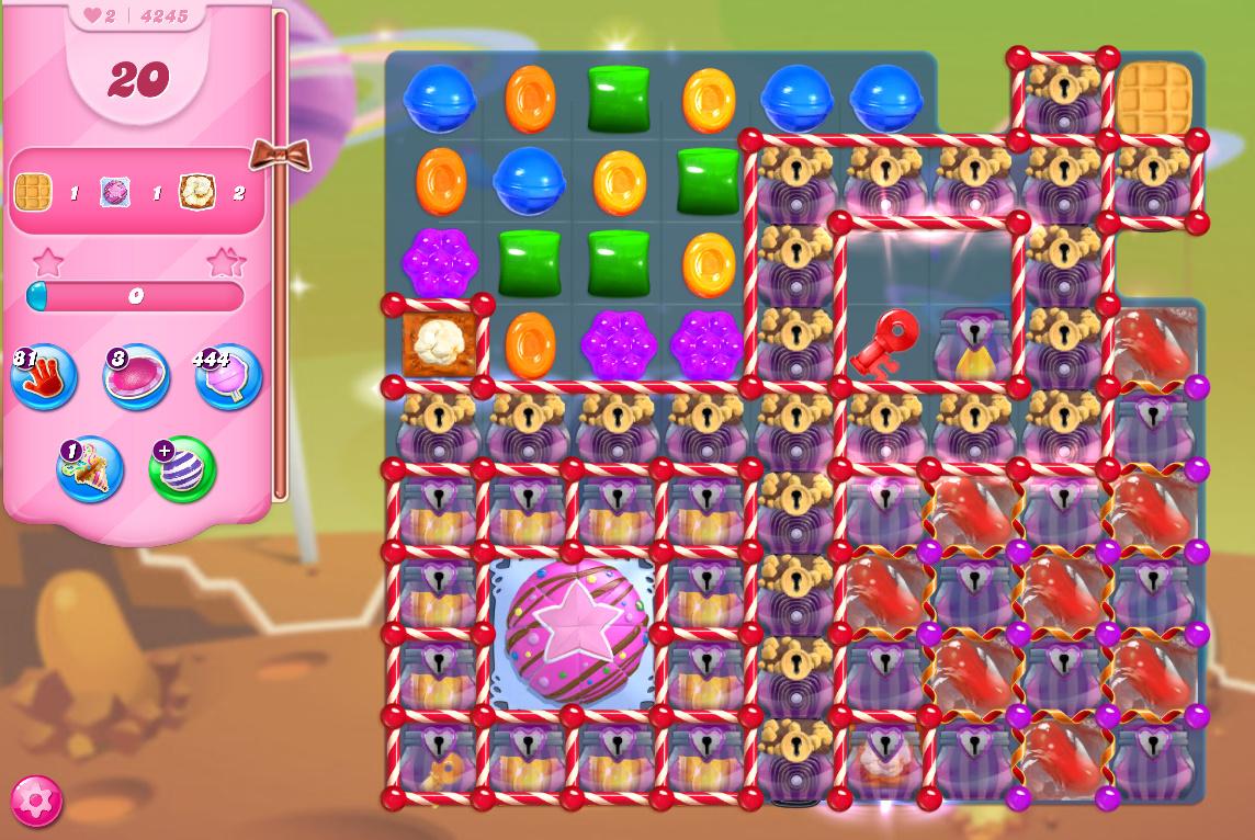 Candy Crush Saga level 4245