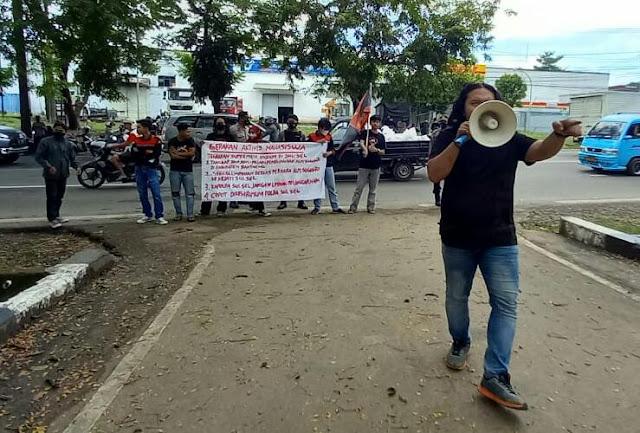 Kasus Pembunuhan Sugianto Tak Kunjung Tuntas, GAM kembali Unjuk Rasa Jilid IX