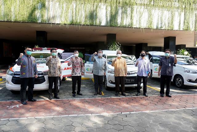 Bantuan Toyota dan SERA kepada Kemenkes