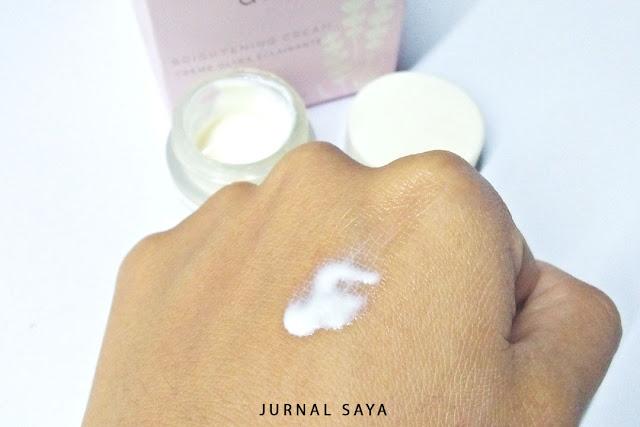 tekstur avoskiin brightening cream baru