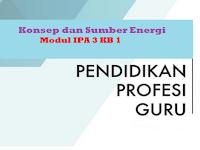 Konsep dan Sumber Energi - Modul IPA 3 KB 1