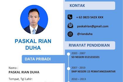 Download CV Lamaran Kerja Word yang menarik perhatian HRD (Gratis)