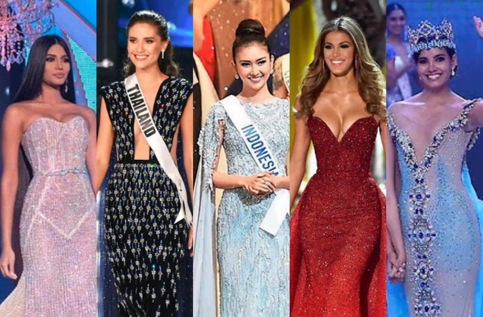 SASHES AND TIARAS.....TOP 25 BEST OF 2017 PAGEANT GOWNS! | Nick Verreos