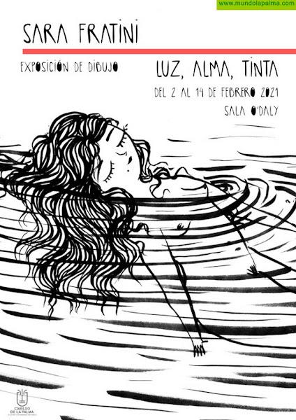 La Sala O'Daly acoge la exposición de dibujos 'Luz, alma y tinta' de Sara Fratini