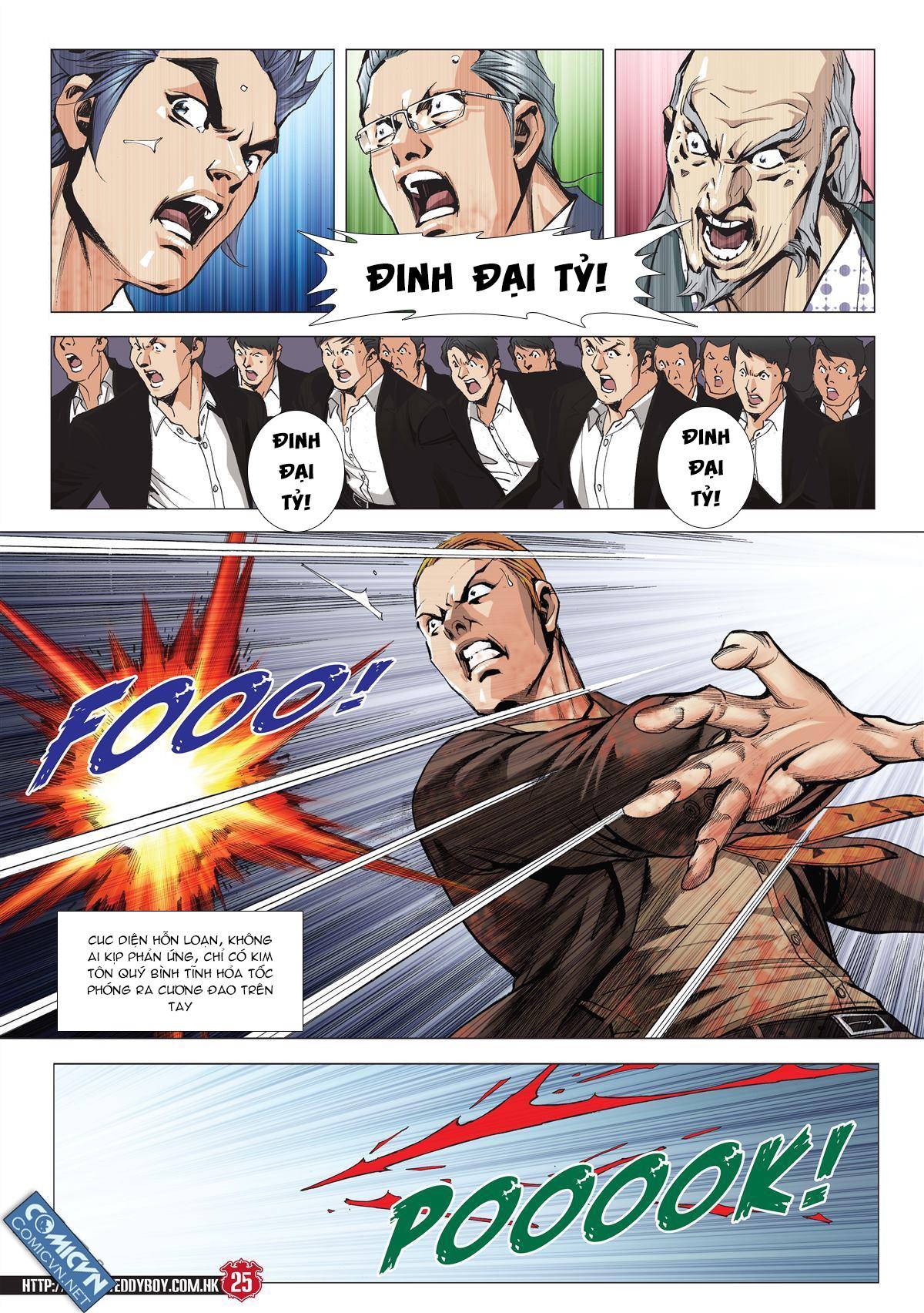 Người Trong Giang Hồ chapter 2001: tự tận trang 24
