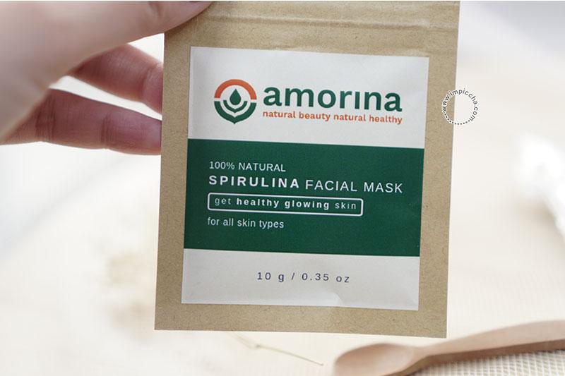 Amorina Spirulina Facial Mask