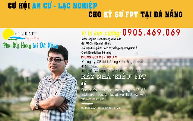 Tổng giám đốc FPT City Đà Nẵng