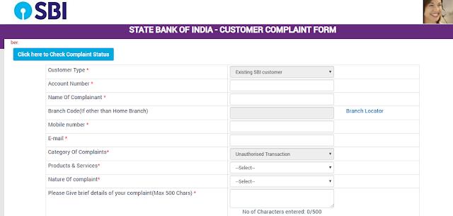 Unauthorized Transaction Registration (Complain)