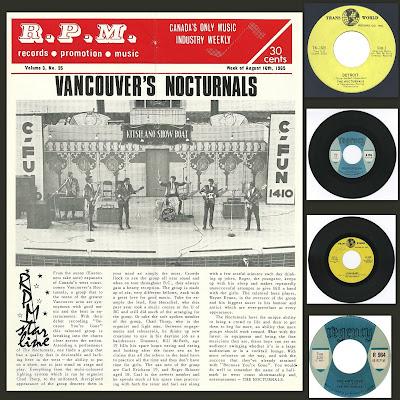 Nocturnals - Singles 1965-67