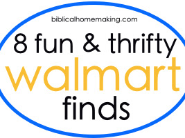 8 fun and thrifty Walmart finds {fall 2013 edition}
