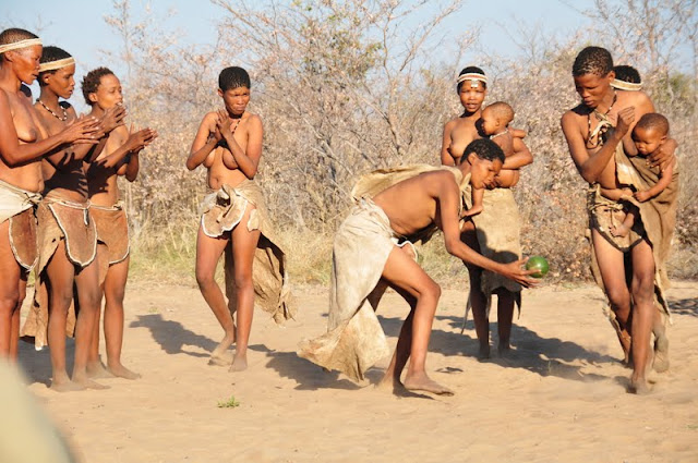 100713+315 San Bushmen People, The World Most Ancient Race People In Africa