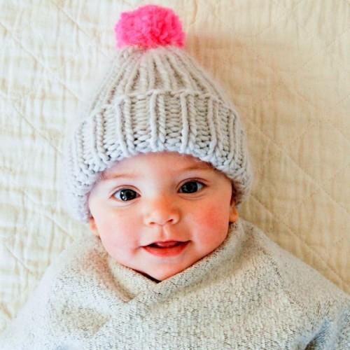 Cute Baby Hat -Free Pattern