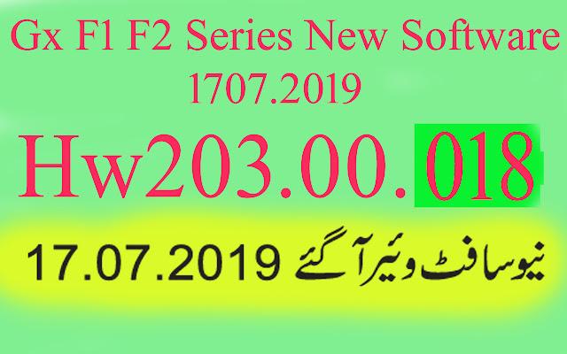 Gx6605s HW203.00.019 New Software
