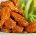 The hot Tabasco chicken wings
