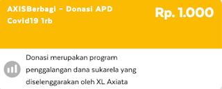 Axis Berbagi Donasi APD Covid19 Yuk Ikut Donasi Sekarang Juga