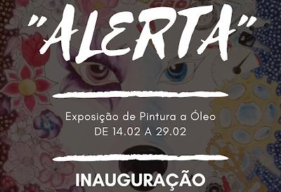 """""""ALERTA"""" de Jorge Rodrigues Inaugura no Nada Temple"""