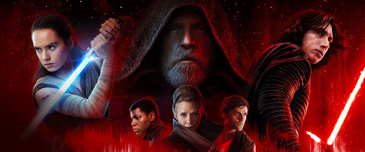 'Star Wars: The Last Jedi' official ensemble poster