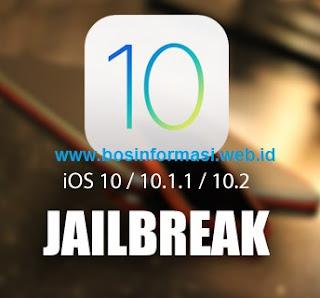 Cara jailbreak iOS 10.2