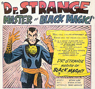 Strange Tales #110, Dr Strange makes his first appearance