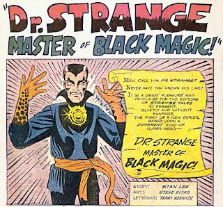 Strange Tales #110, Dr Strange makes his first appearance