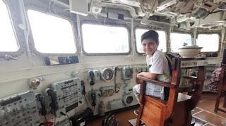 Sala de mandos del HMS Belfast.