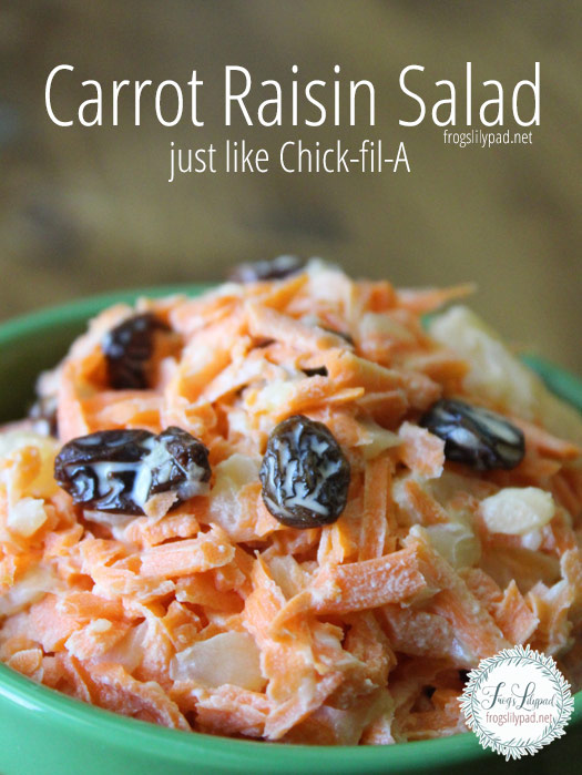 A Fresh Carrot Salad - Just Like Chick-fil-A's