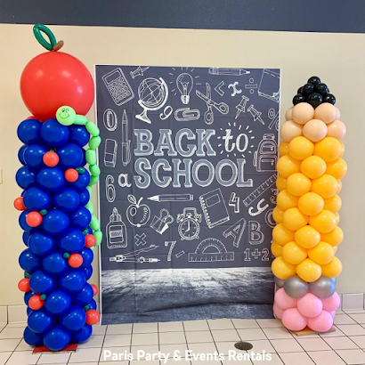 Back to School Decor by Balloons by Paris Party