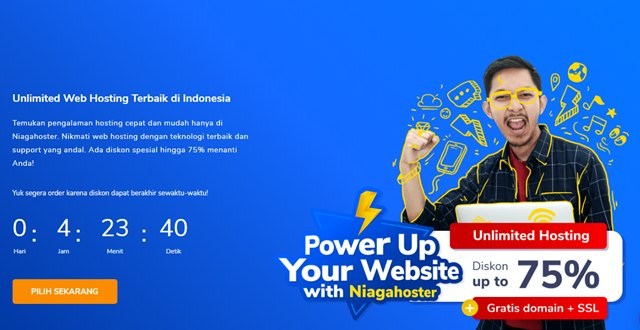 Promo Hosting Gratis Domain Niagahoster April 2020 - niagahoster.co.id