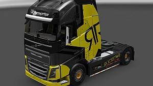 Rockstar Energy skin for Volvo FH 2012