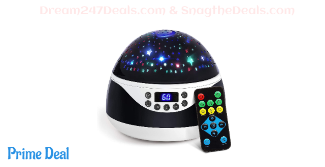 Newest Star Projector Sleep Helper with Light Patterns and Lullabies 45% OFF