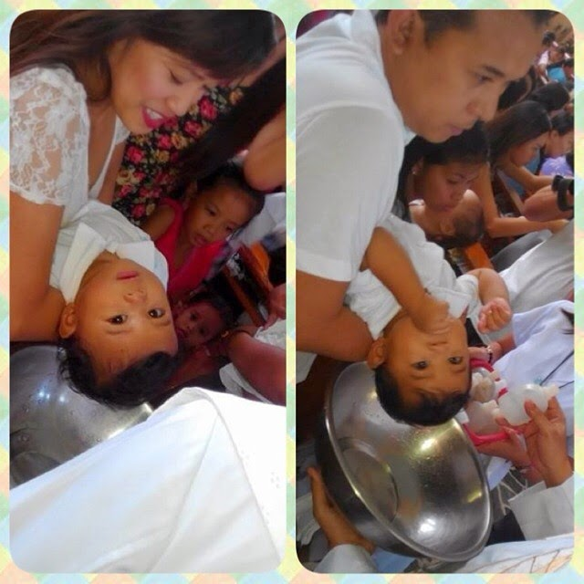 My Twin's Baptismal on a Budget
