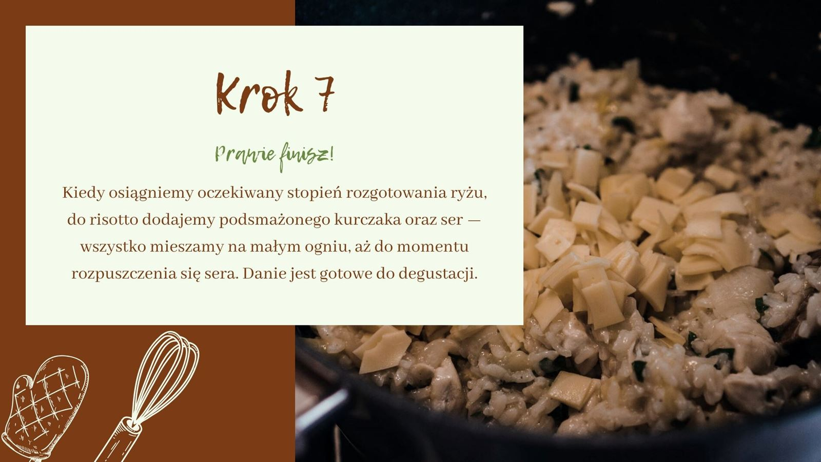 1 przepis jak zrobić risotto z cukinią i pieczarkami na białym winie polskie dobre białe wina wytrawne dwór sanna cena recenzja opinia gdzie kupić hotel z winnicą