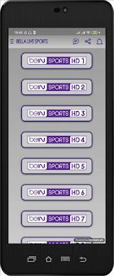 تحميل تطبيق Bella Live Sports apk الجديد لمشاهدة القنوات المشفرة مباشرة على أجهزة الأندرويد