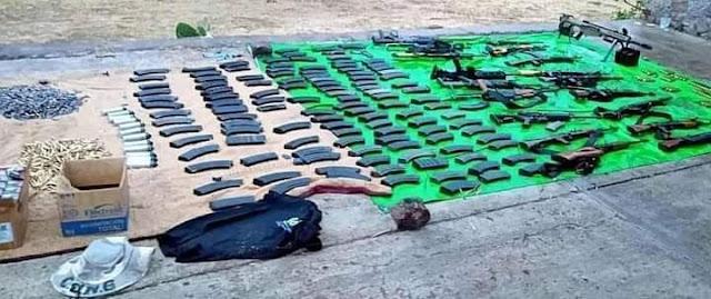 19 muertos y 15 Sicarios del Mencho detenidos es el saldo de un solo día de batalla entre el CJNG y El Cártel de Sinaloa en Zacatecas