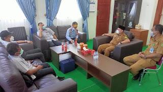 Ruddy Nursalam temui ,Bupati dan Wakil Bupati Lingga bahas tentang PT.Timah