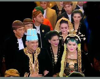Makna Busana Pernikahan Putri Presiden