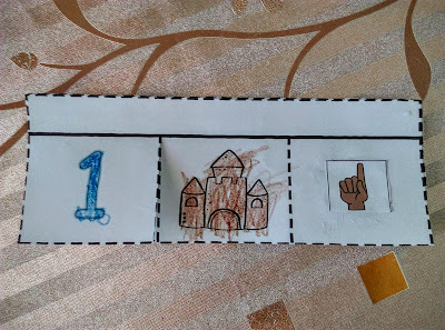 Καλοκαιρινό flap book με αριθμούς