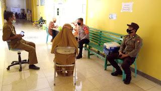 Hari Bhayangkara ke-75, Kapolsek Anggeraja Koordinasi Dengan Pihak Rs. Puang Sabbe Untuk Pelaksanaan Vaksin