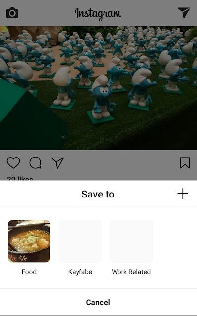 Comment organiser les signets Instagram en collections privées