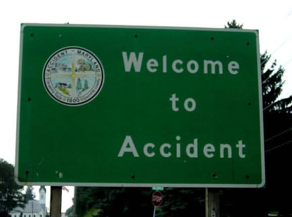 Tanda Selamat Datang Di Kecelakaan
